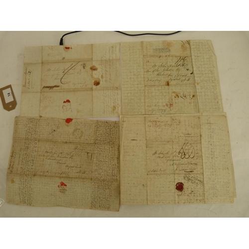 14 - McNAB WILLIAM,Buenos Aires & Montevideo.6 very detailed & descriptive manuscript