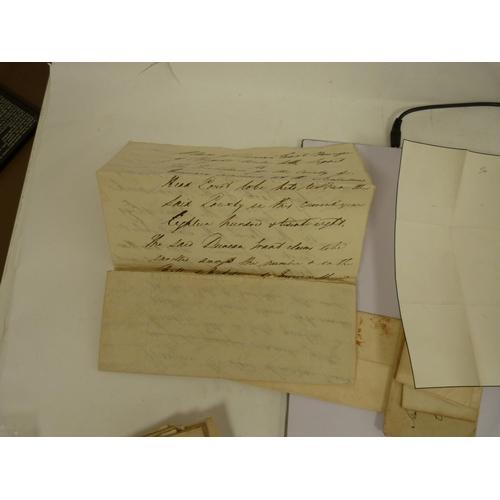 21 - Letters. 20manuscript letters, 1790s - 1850`s from Lord Lovat, Duke of Gordon, Duke of Sutherland, ...