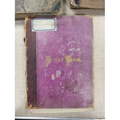 24 - DUFF H. R., of Muirtown.Manuscript account & commonplace book with some cuttings & loose ep...
