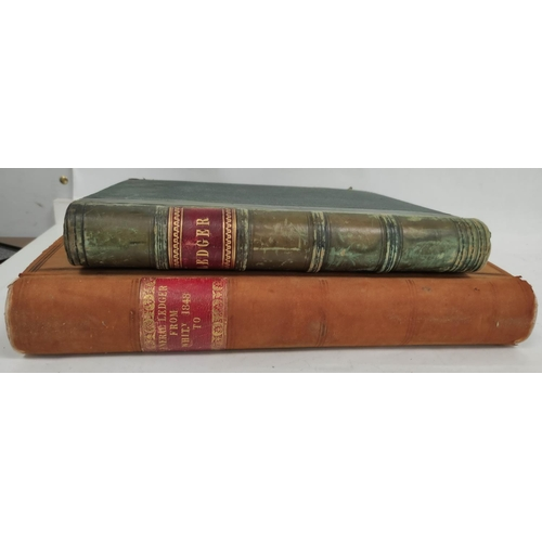 33 - WARRAND DUNCAN (Compiler).2 large folio ledgers containing copious information of historical &...