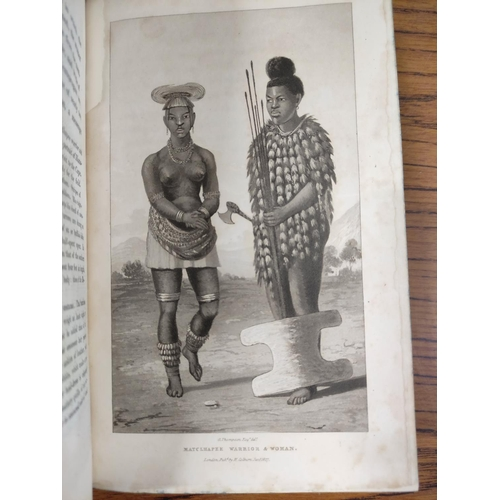 36 - THOMPSON GEORGE.Travels & Adventures in Southern Africa. 2 vols. 23 eng. plates &...