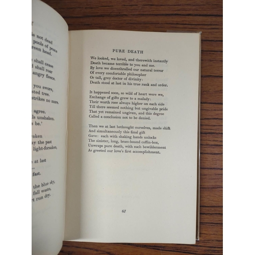 40 - GRAVES ROBERT.Collected Poems (1914-1947). 1st ed. in orig. green cloth & d.w. 1948; also 1st'...