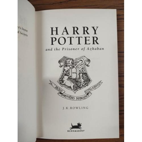 42 - ROWLING J. K.Harry Potter & The Prisoner of Azkaban. Orig. pict. brds. in d.w. 10 9 ...