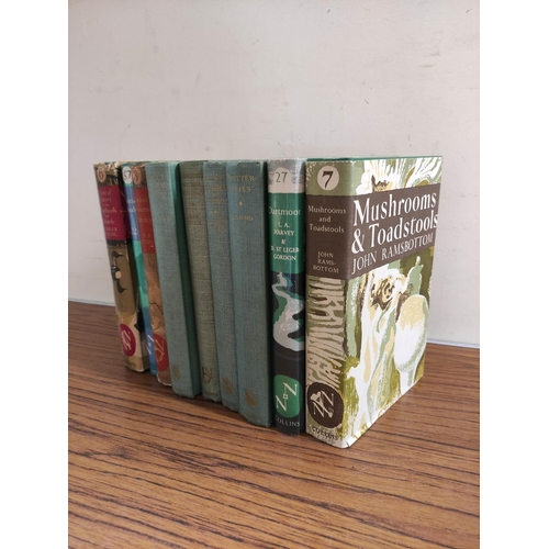 45 - Collins New Naturalist Series.Mushrooms & Toadstools. 1st ed. in d.w. 1953; also 3 other New N...