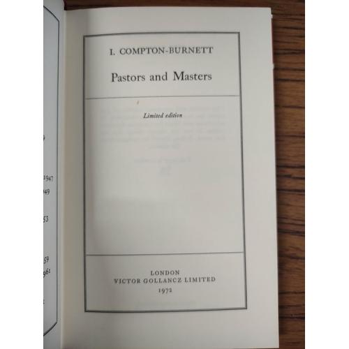 49 - COMPTON-BURNETT IVY.(The Novels). 19 vols. Ltd. ed. 59/500. Orig. red cloth in d.w's &am...