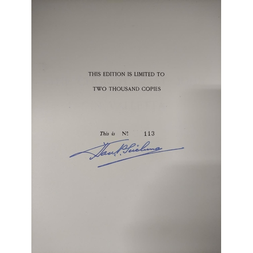 56 - SCICLUNA SIR H. P.The Church of St. John in Valletta. Signed ltd. ed. 113/2000. Col. plates. Quart...