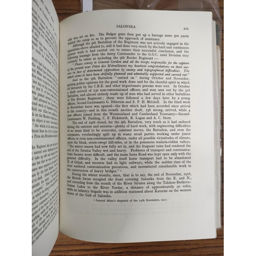 58 - WYLLY COL. H. C.The Border Regiment in the Great War. Fldg. maps & illus. Maps in po...