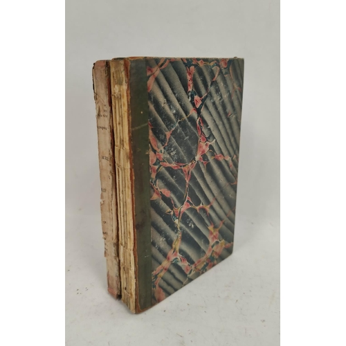 9A - ANON.(French history). Notes Ecrite a Geneve en 1829. A manuscript military & political histor...