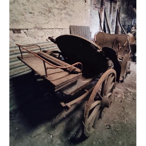 9 - GEORGE IV OR PARK PHAETON,full width rumble seat, nicely shaped body with stylish high dash and gra...