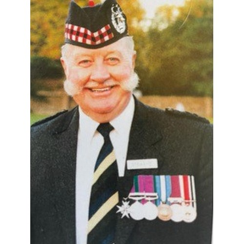 """The following 272 lots are from the medal collection of 22412602 Company Sergeant Major Samuel (""""Sam"""" or """"Snowie"""") Connor Warden of The Gordon Highlanders (1932-2020).He was born into the Regiment at Cherat North West Frontier Province India (now Pakistan) on 10th April 1932."""
