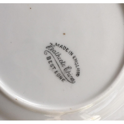 28 - <p>Lot of Heathcote China.</p> <p>The china has been checked over and in our opinion is in an very g...