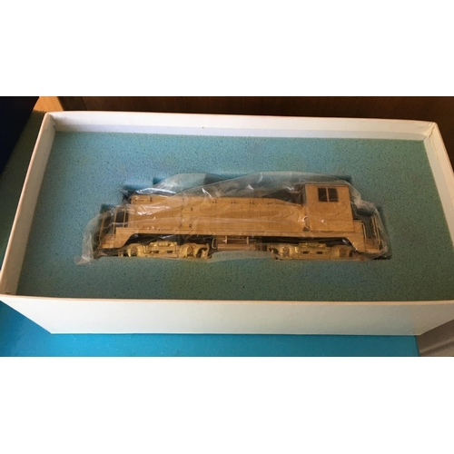 34 - <p>Vintage Boxed ALCO NW2 Brass Model Train.</p> <p>In our opinion the model is in an excellent cosm...