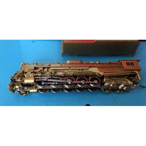 35 - <p>Vintage Boxed Westside Model Co Chesapeake&Ohio Class T-1 2-10-4 Brass Model Train.</p> <p>Th...
