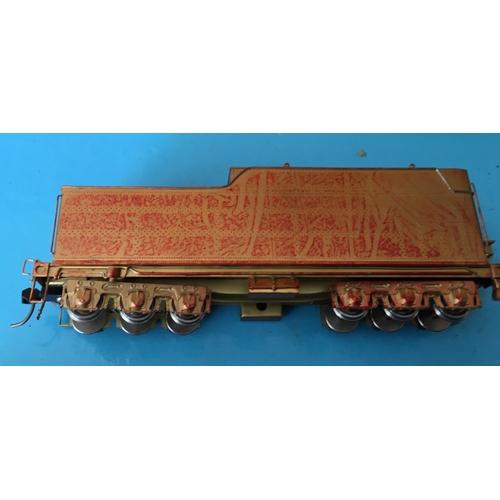 37 - <p>Vintage Boxed Samhongsa Sunset Models Sante Fe 3700 Class 4-8-2 Brass Model Train.</p> <p>This is...