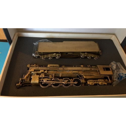 41 - <p>Vintage Boxed ATLAS INDUSTRIES for Pacific Fast Mail - New Hi Grade - C&O 2-8-4 Brass Model T...