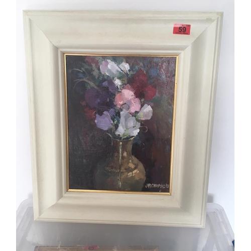 59 - <p>John McKinnon Crawford Oil Painting -15
