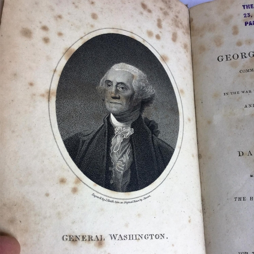 1 - 1807 Ramsay's Life of Washington by David Ramsay published by T Cadell and W Davies in the Strand...