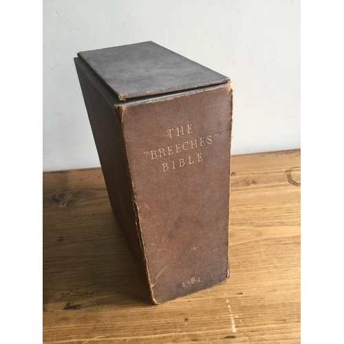 13 - 1581 The Breeches Bible. James V Printed in London...
