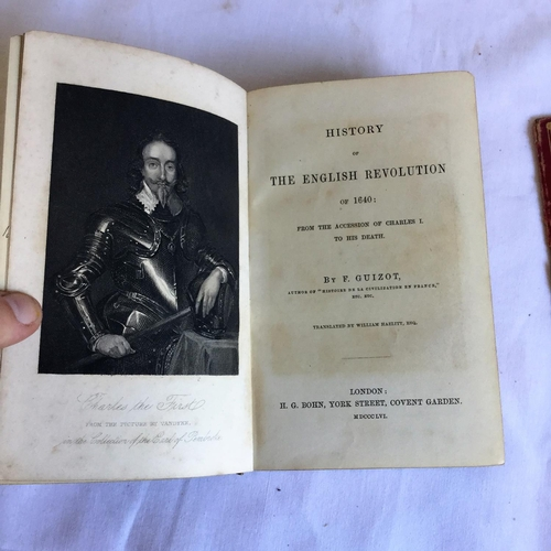 14 - 1856 Guizots English Revolution by F Guizot published by H G Bohn London....