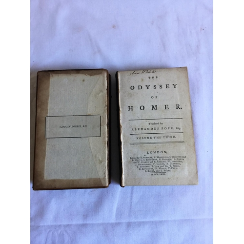 15 - 1763 The Iliad of Homer in 3 volumes complete by Alexander Pope T Osborne H Woodfall et al....