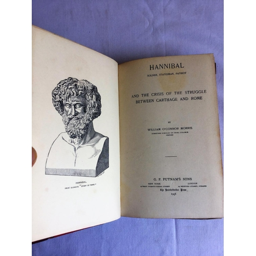 18 - 1908 Hannibal. And The Crisis Of The Struggle Between Carthage And Rome by William O'Connor Morris p...