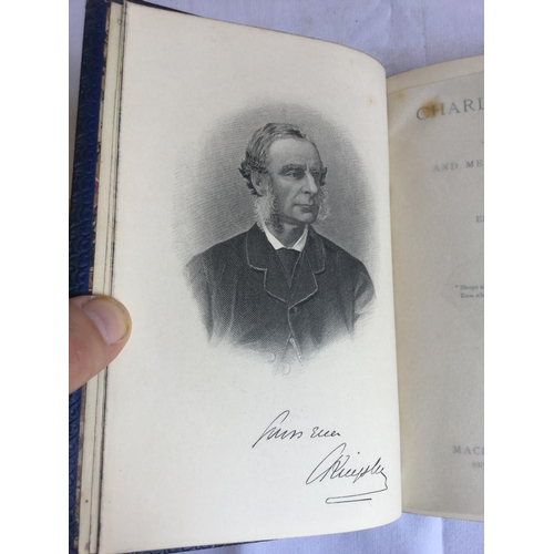 25 - 1899 Charles Kingsley. His Letters and Memories of his life by Charles Kingsley published by London....
