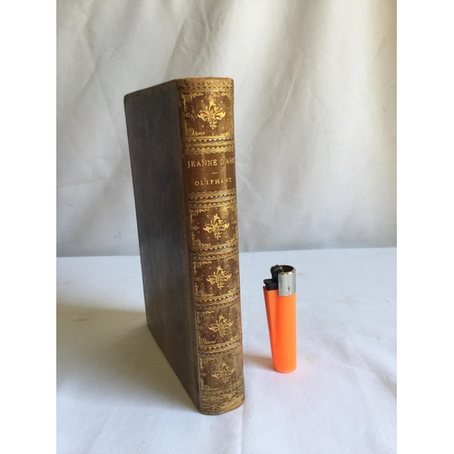27 - 1896 Jeanne D'Arc Her Life and Death by Mrs Oliphant published by G.P Putnam's Sons...