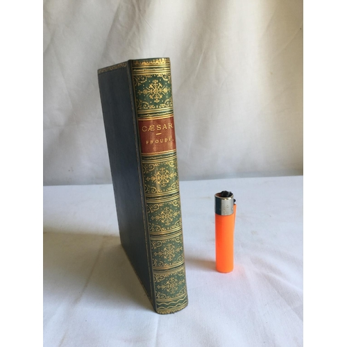 31 - 1896 Caesar a Sketch by James Anthony Froude. Published by London. Longmans, Green and Co...