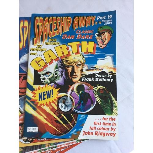 39 - 2009-2012 10 x Spaceship Away Comics Dan Dare...