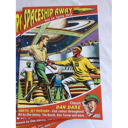 40 - 2013-2016 10 x Spaceship Away Comics Dan Dare...