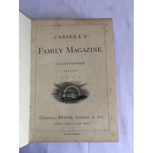44 - 19th century Cassell's Family Magazine by Cassell's published by Cassell Petter Galpin....
