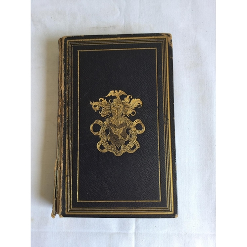 46 - 1839 Marmion A Tale of Flodden Field. Illustrated edition by Walter Scott. Published by Charles Tilt...