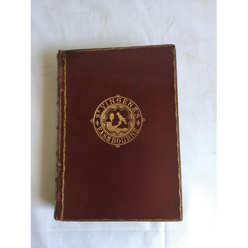 54 - 1854 Woods Natural History by Rev J G Wood. Published by George Routledge, London...