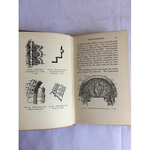 57 - 1912 English Architecture 3rd Edition by T D Atkinson. Published by Methuen & Co....