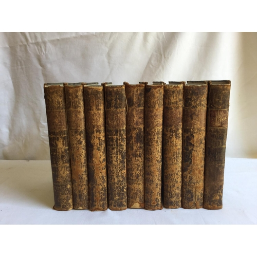 59 - 1797 The Works of Alexander Pope complete in 9 vols. By Alexander Pope. Published by B Law J Johnson...
