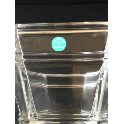 17 - Deco style Tiffany & Co glass bowl...