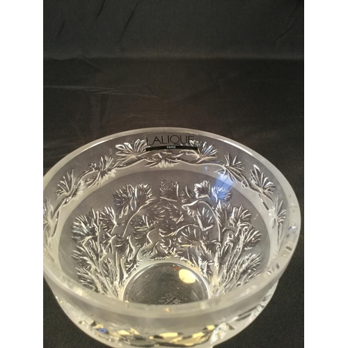 52 - Lalique small bowl in perfect condition...