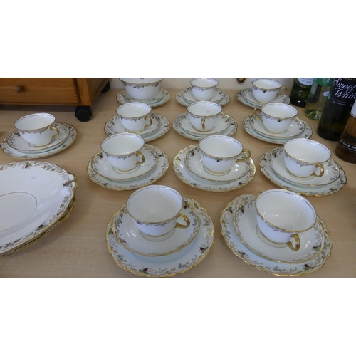 Early Adderley Bone China Tea Set