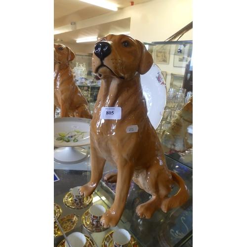 Beswick Model No 2314 Golden Labrador.