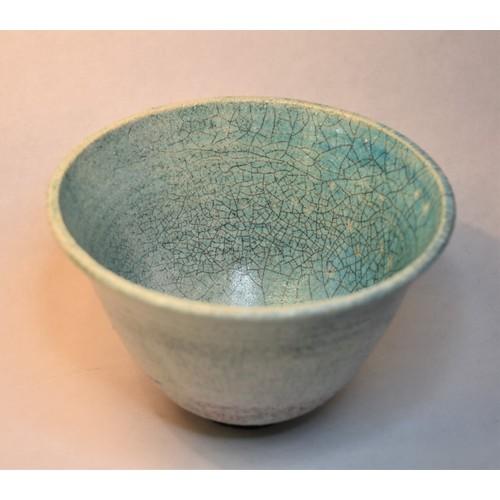 1025 - Oriental Crackle Glazed Bowl.