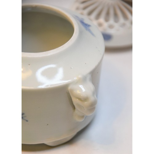 1018 - Two Pieces of Chinese B & W Porcelain