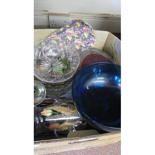503 - Box - Assorted China & Glass.
