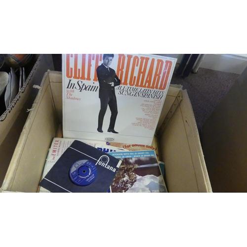 509 - Box - Assorted 33rpm Vinyl Records.