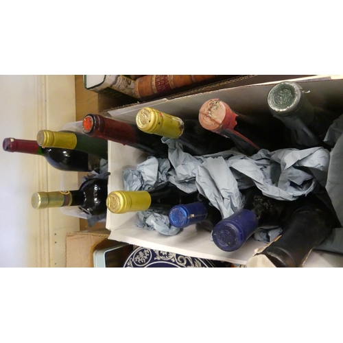 526 - Two Boxes - Assorted Wines.