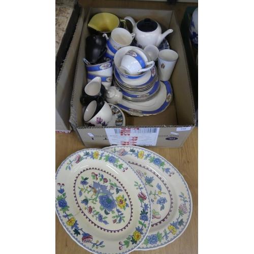 528 - Box - China, Pottery etc.