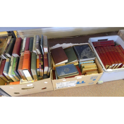 540 - Three Boxes - Assorted Books.