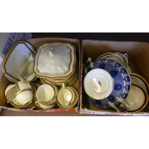 543 - Two Boxes- Two Part Dinner Sets.