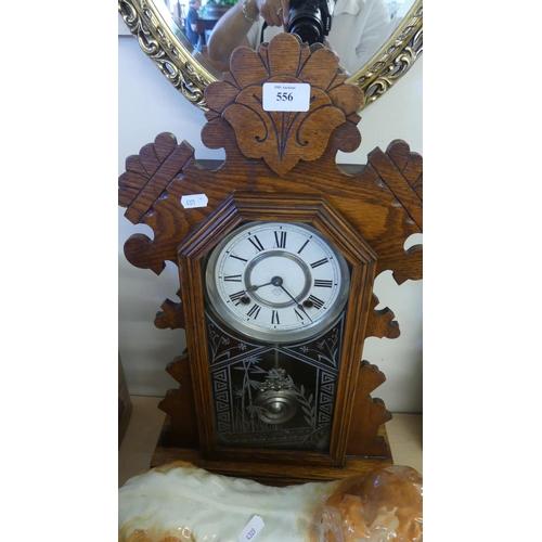 556 - American Mantel Clock.