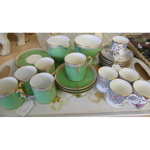 560 - Tray Lot - Assorted Part Coffee Sets.