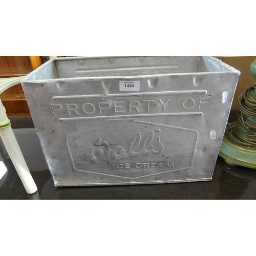 Aluminium Wall's Ice Cream Box